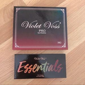 NWT Beautiful Violet Voss Eyeshadow Palette Bundle